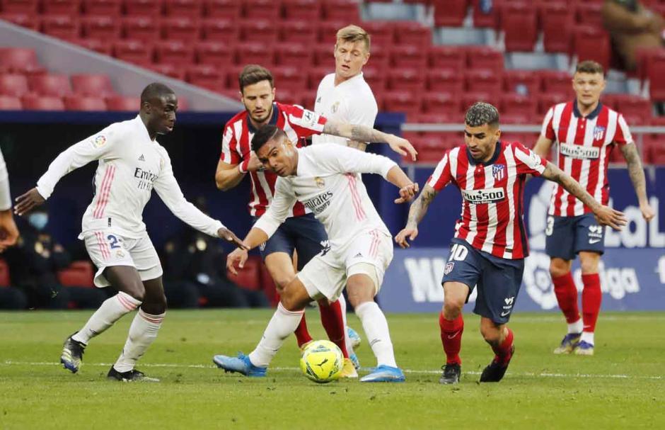 Derby Madrid Berakhir Imbang 1-1-0