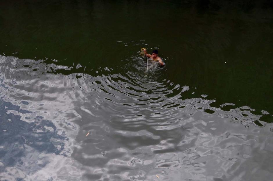 Mencari Ikan dan Berolahraga di Situ Gintung-6