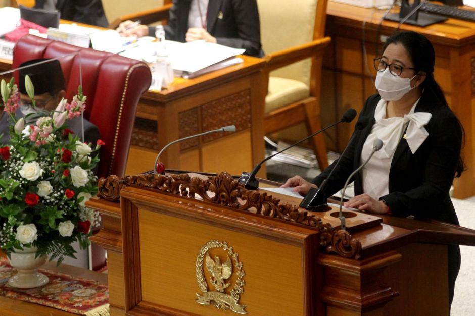 Puan Maharani Pimpin Rapat Paripurna Pembukaan Masa Persidangan IV Tahun Sidang 2020-2021-4