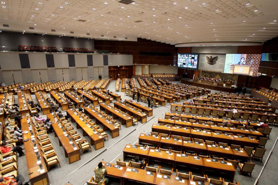 Puan Maharani Pimpin Rapat Paripurna Pembukaan Masa Persidangan IV Tahun Sidang 2020-2021-3