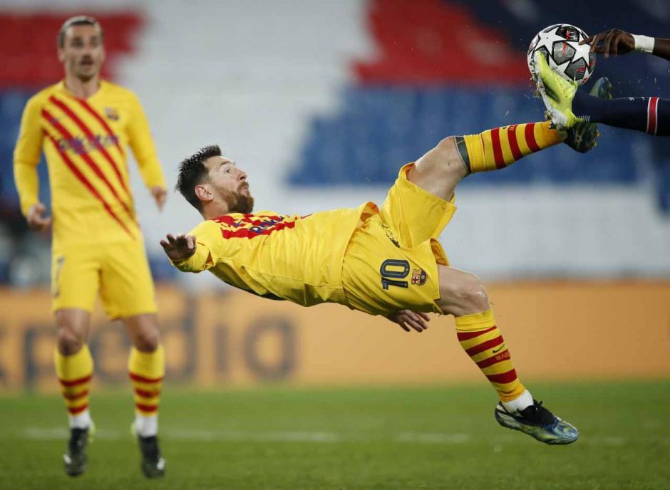 PSG Lolos ke Perempat Final Liga Champions Usai Singkirkan Barcelona-0