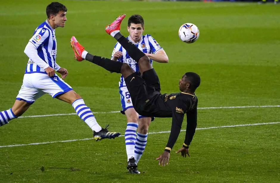 Bantai Real Sociedad 6-1, Barcelona Geser Real Madrid di Peringkat Kedua Klasemen-3