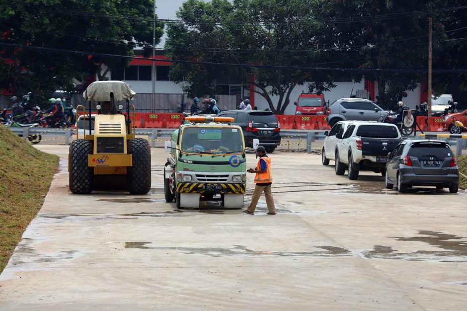 Progres Pembangunan Jalan Tol Pamulang-Cinere Capai 78.9 Persen-0