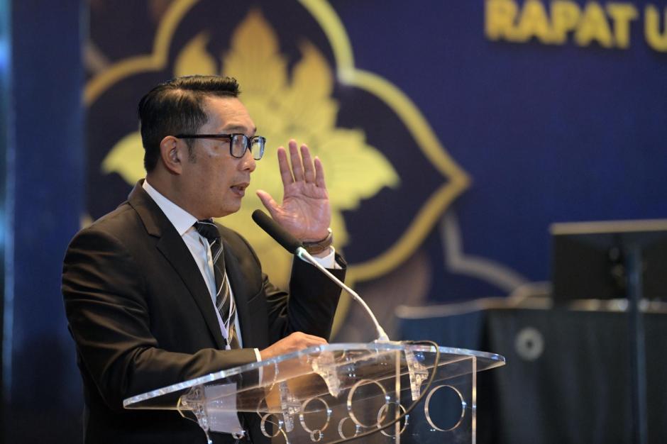 Ridwan Kamil Hadiri RUPS Tahunan Bank BJB Tahun Buku 2020-3