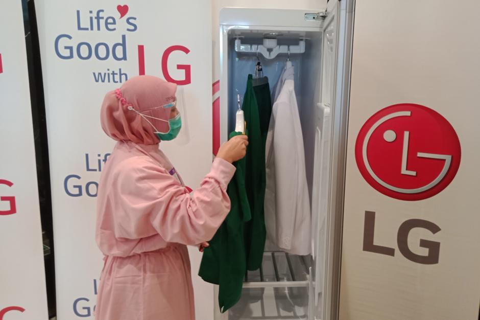 LG Hadirkan Lemari Steril untuk Pakaian Tenaga Medis-1