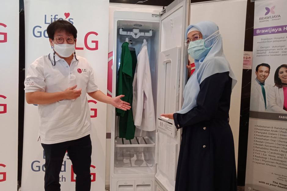 LG Hadirkan Lemari Steril untuk Pakaian Tenaga Medis-0