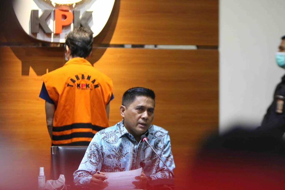 Buronan Samin Tan Resmi Ditahan KPK-1