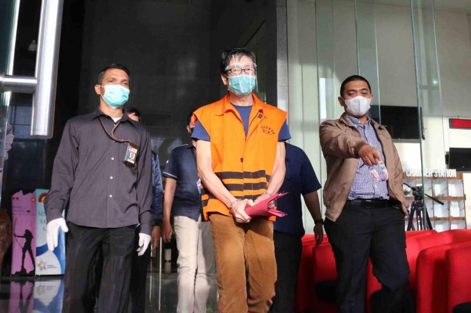 Buronan Samin Tan Resmi Ditahan KPK-0