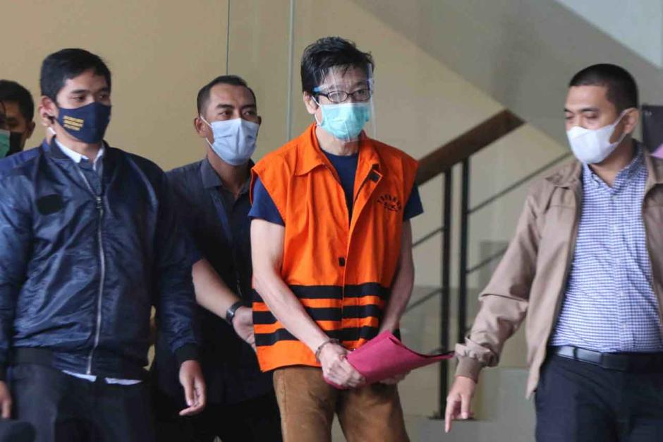 Buronan Samin Tan Resmi Ditahan KPK-4