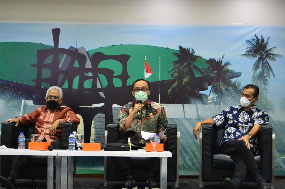 Diskusi Forum Legislasi DPR Bahas Poin Penting RUU ASN-2