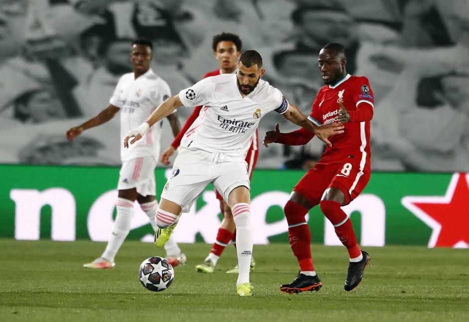 Real Madrid Redam Perlawanan Liverpool 3-1-0