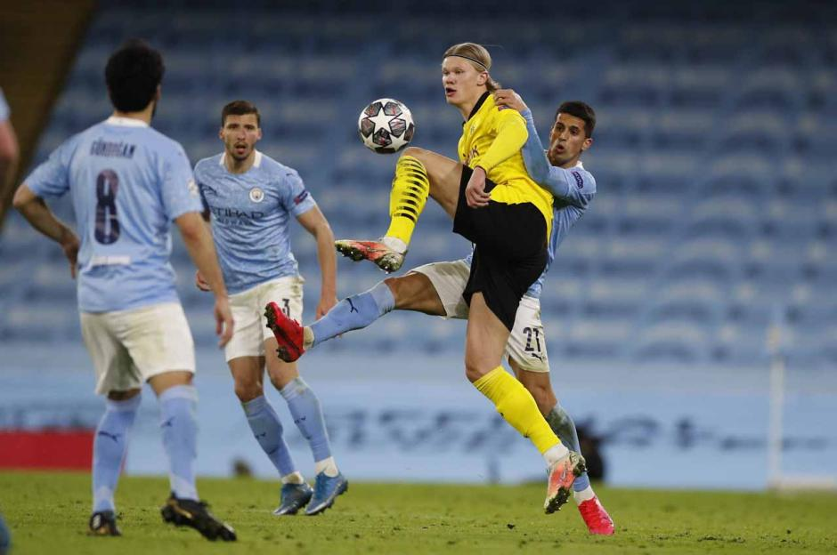 Menang 2-1, The Citizens Bungkam Borussia Dortmund di Etihad-0