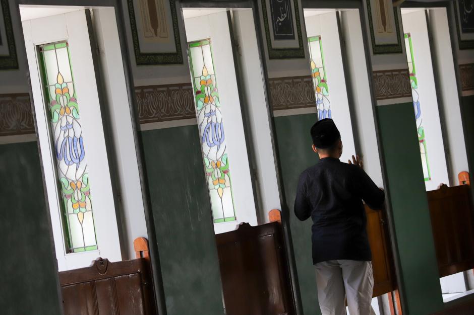 Masjid Agung Al-Azhar Jaksel Gelar Tarawih dan Pembagian Takjil Drive Thru-1