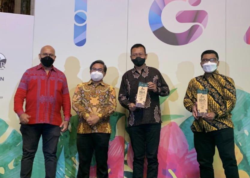 Konsisten Pengembangan Masyarakat Berwawasan Lingkungan, Kaltim Nitrate Indonesia Raih Indonesia Green Awards 2021-1