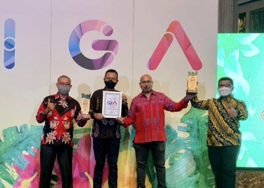 Konsisten Pengembangan Masyarakat Berwawasan Lingkungan, Kaltim Nitrate Indonesia Raih Indonesia Green Awards 2021-0