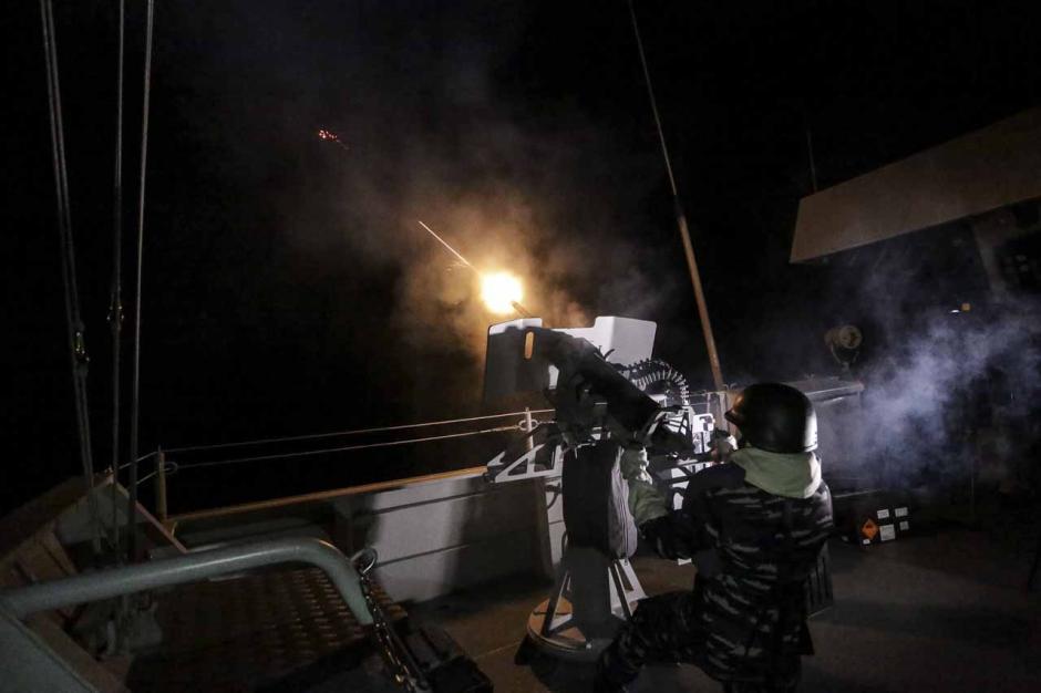 Rudal C-705 Milik TNI AL Beterbangan di Perairan Natuna-2