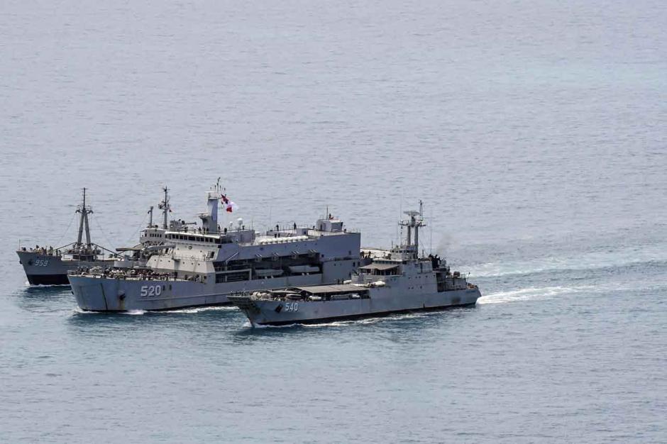 Formasi Sailing Pass Latopsratmin 2021-1