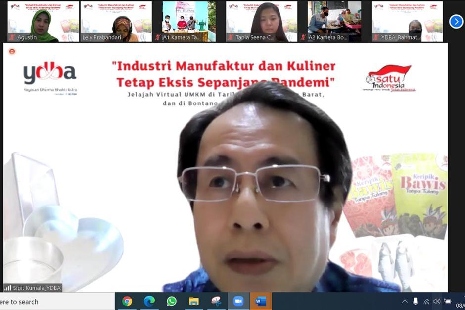 Jelajah Virtual UMKM YDBA Kunjungi Industri Manufaktur di Bogor-1