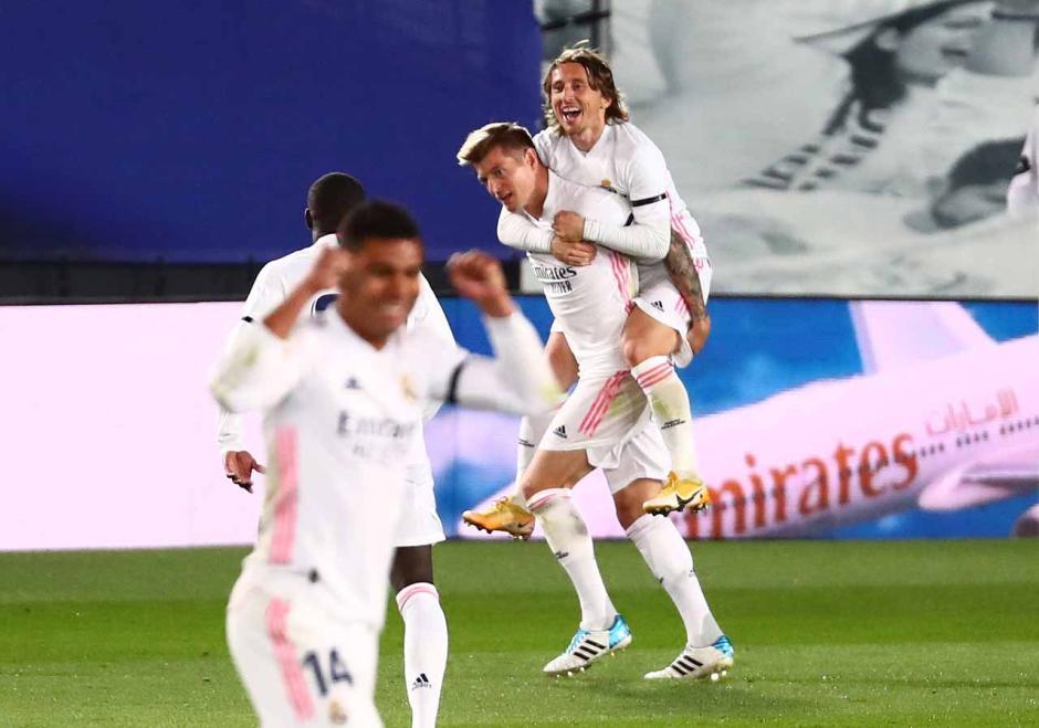 Menangi El Clasico, Real Madrid Geser Atletico di Puncak Klasemen-2