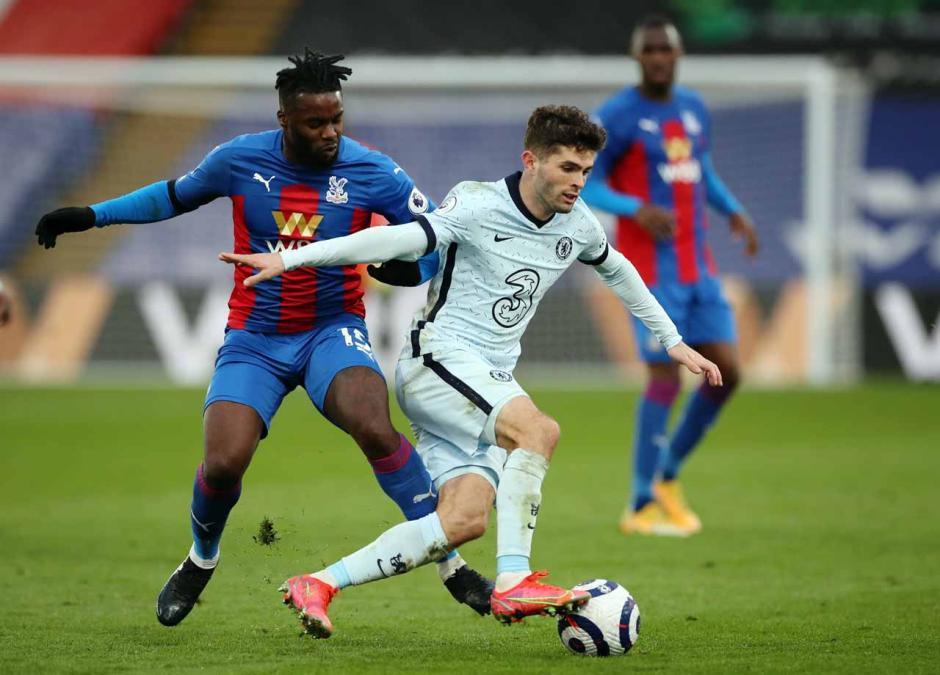 Brace Pulisic Warnai Pesta Gol Chelesea atas Crystal Palace-0