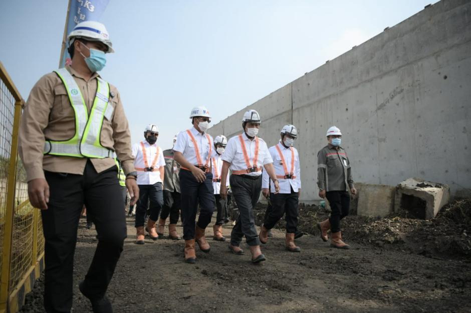 Progres Pembangunan Proyek Kereta Cepat Jakarta-Bandung-0