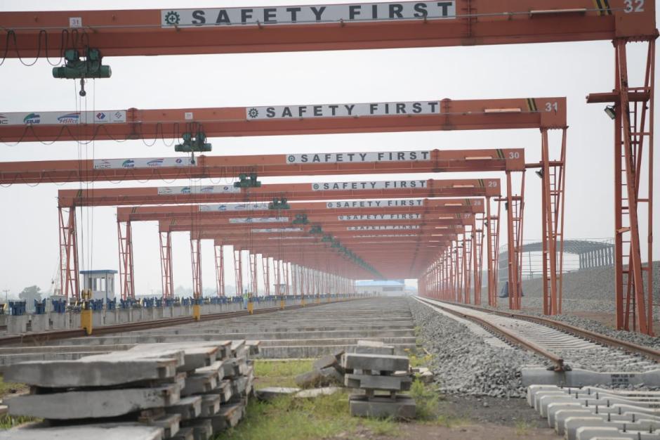 Progres Pembangunan Proyek Kereta Cepat Jakarta-Bandung-6