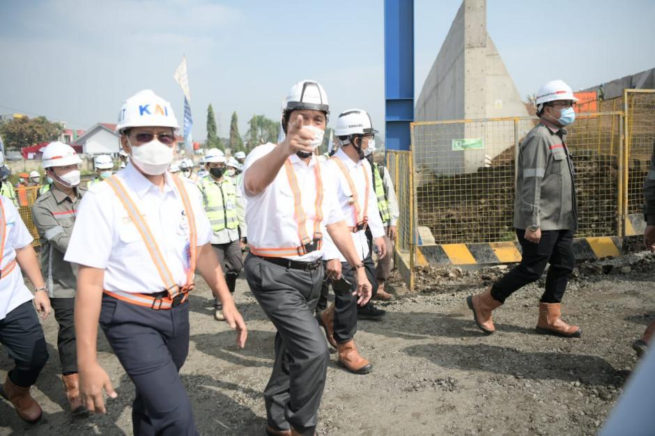 Progres Pembangunan Proyek Kereta Cepat Jakarta-Bandung-1