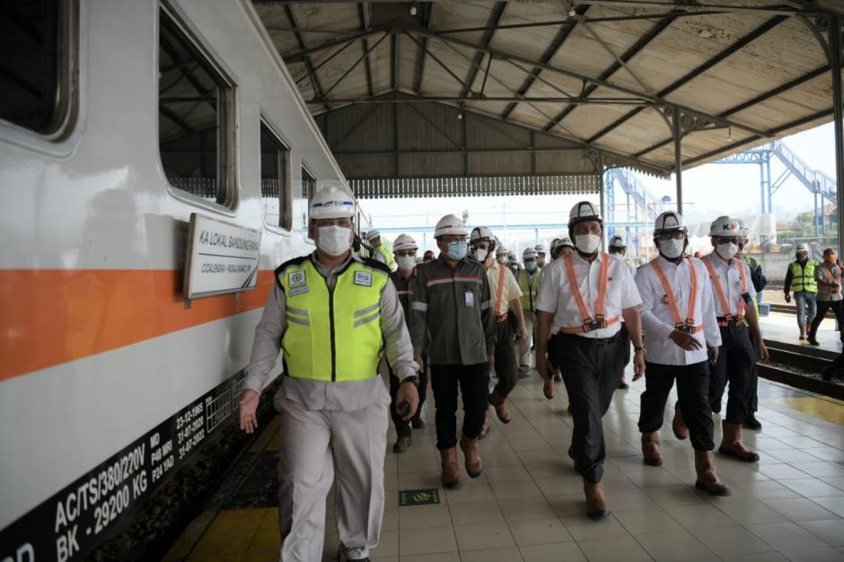 Progres Pembangunan Proyek Kereta Cepat Jakarta-Bandung-2
