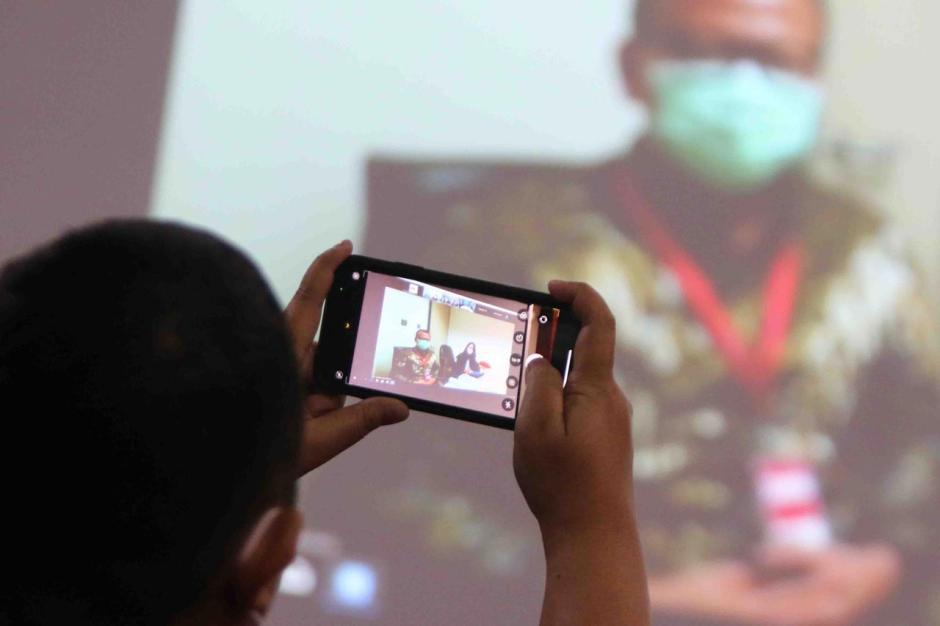 Digelar Secara Virtual, Eks Menteri Kelautan dan Perikanan Edhy Prabowo Jalani Sidang Perdana-1