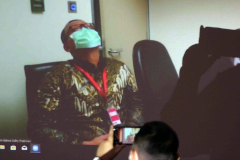 Digelar Secara Virtual, Eks Menteri Kelautan dan Perikanan Edhy Prabowo Jalani Sidang Perdana-2