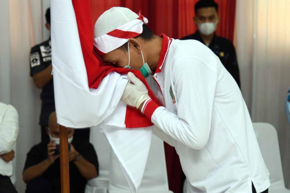 Cium Bendera Merah Putih, 34 Napi Terorisme Ini Buktikan Setia kepada NKRI-2
