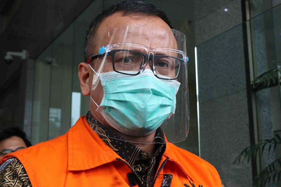 Usai Jalani Sidang Perdana, Edhy Prabowo Minta Dukungan dan Doa-2