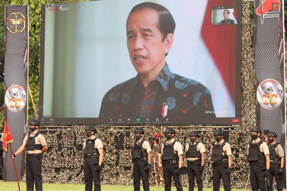 Tanpa Atraksi Militer, HUT ke-69 Kopassus Digelar Secara Sederhana-5