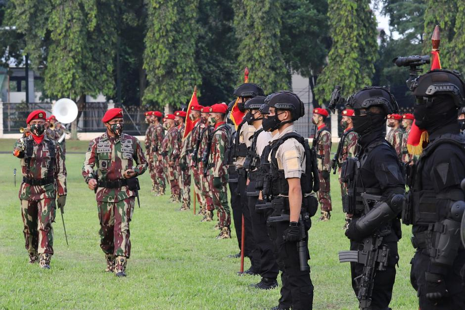 Tanpa Atraksi Militer, HUT ke-69 Kopassus Digelar Secara Sederhana-6