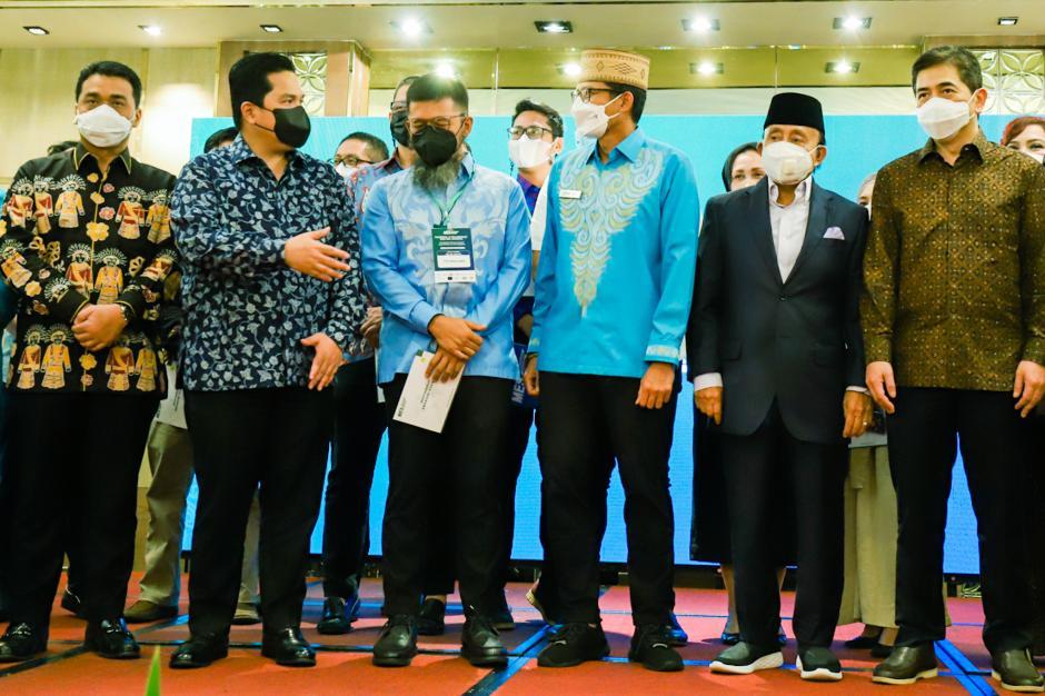 Erick Thohir Lantik Pengurus MES DKI Jakarta-2