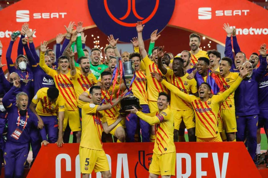 Hancurkan Athletic Bilbao 4-0, Barcelona Juarai Copa del Rey-3