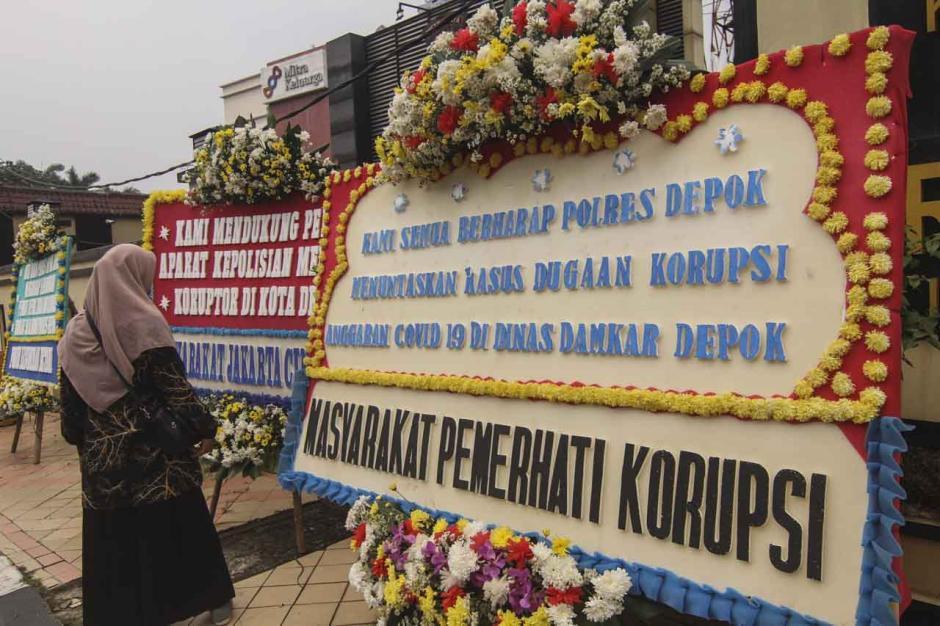 Dukungan Bongkar Kasus Korupsi di Dinas Damkar Depok-0