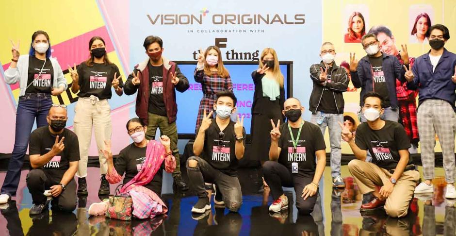 Platform Vision+ Rilis Series Baru The Intern Kental dengan Anak Muda-4