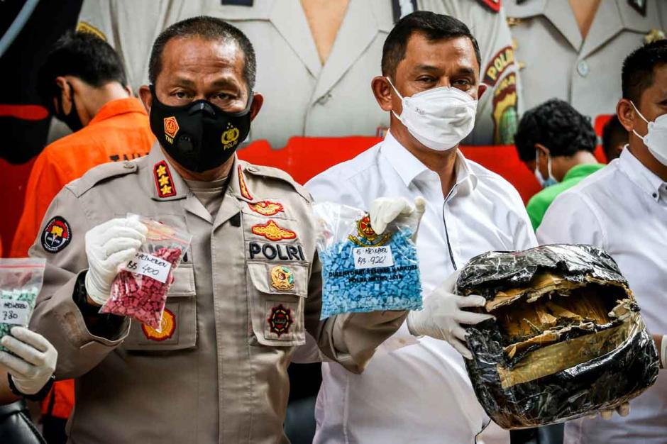 Rilis Kasus Narkoba, Polda Metro Jaya Amankan 6,3 Kg Sabu dan Ribuan Ekstasi-0
