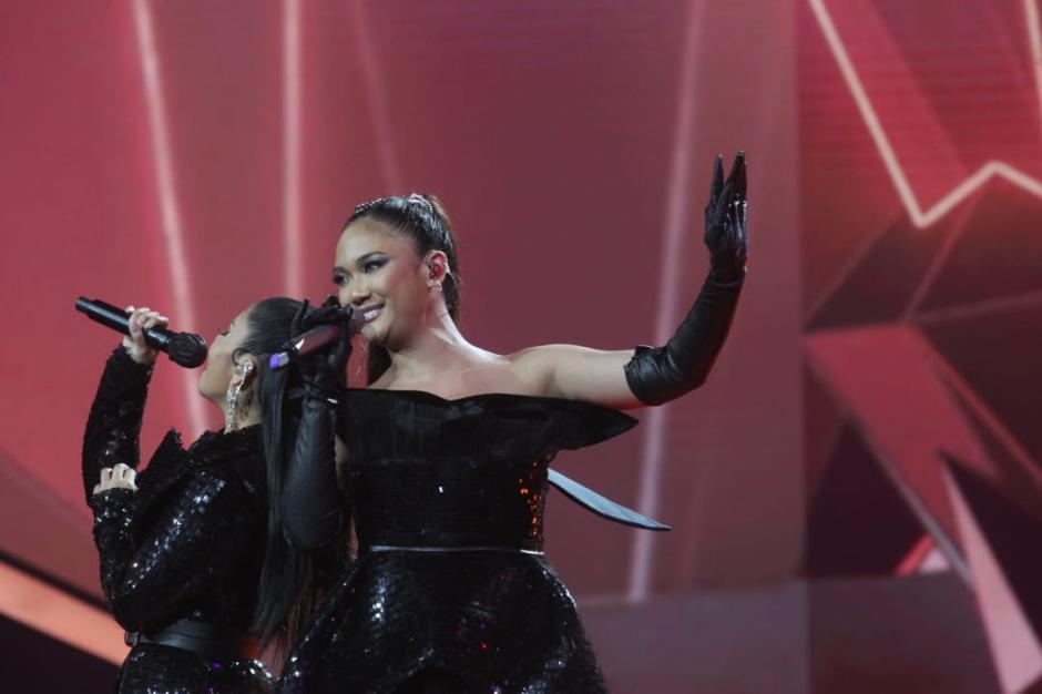 Tampil Kompak, Marion Jola dan Rimar Callista Bius Juri Indonesian Idol-3
