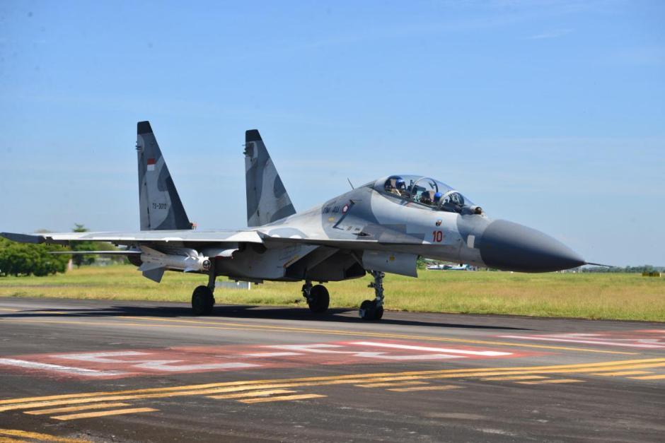 Uji Rudal, Sukhoi Skadron Udara 11 Tembakkan Peluru Kendali KH-29TE-2