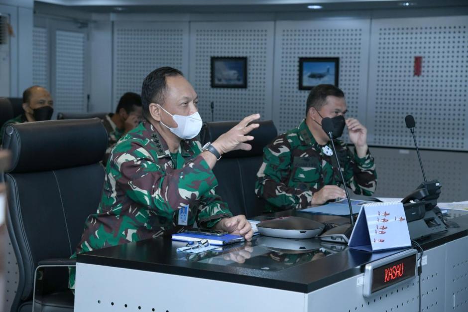Uji Rudal, Sukhoi Skadron Udara 11 Tembakkan Peluru Kendali KH-29TE-0