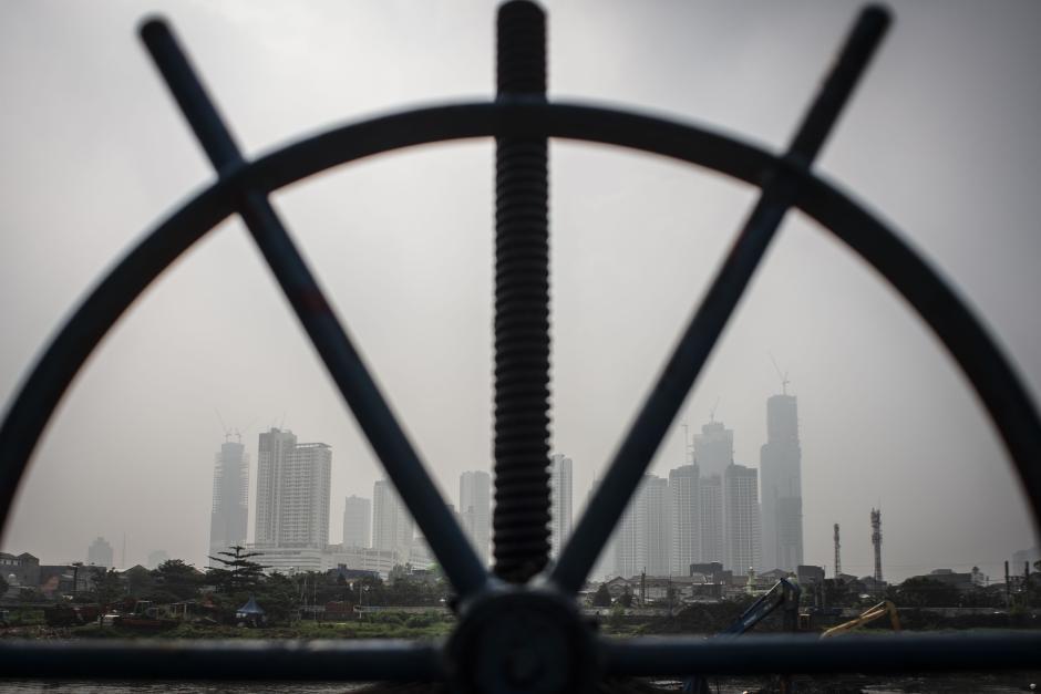 Tingkat Kualitas Udara di Jakarta Masuk Kategori Tidak Sehat-0