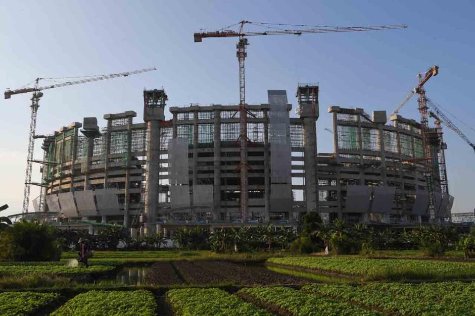 Progres Pembangunan Jakarta International Stadium-1