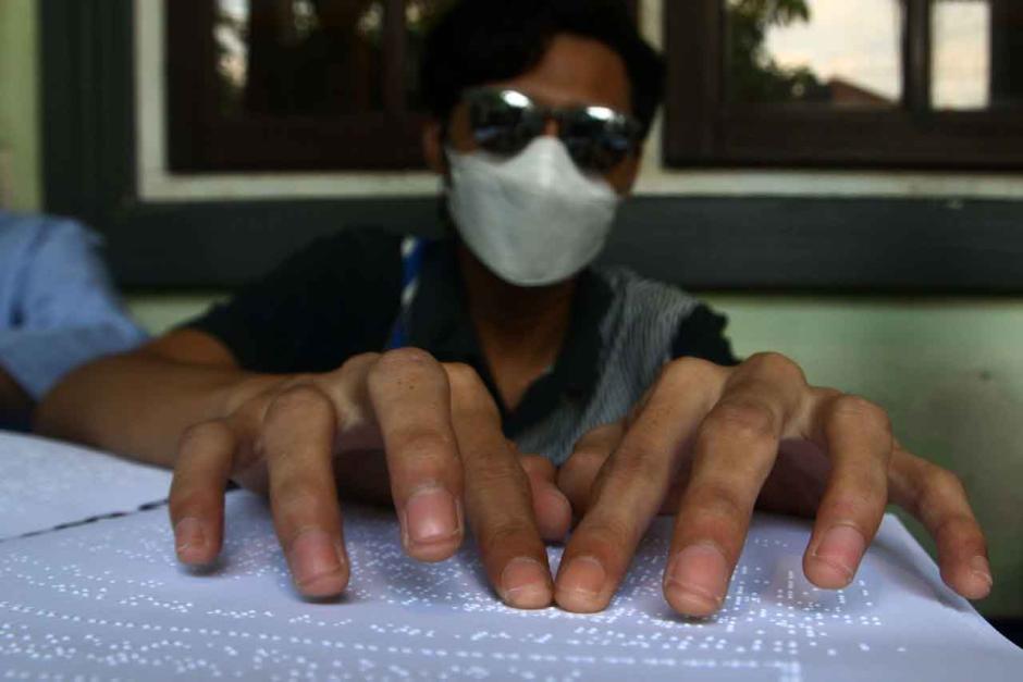 Semangat Penyandang Disabilitas Membaca Alquran Braille di Bulan Ramadhan-4