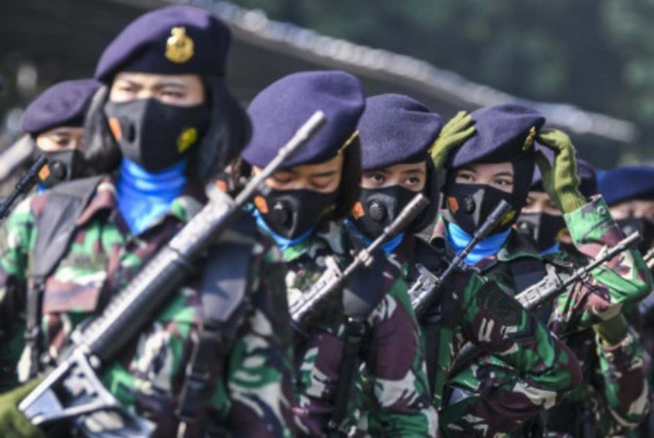 Peringati Hari Kartini, Korps Prajurit Wanita TNI Gelar Apel Bersama-5