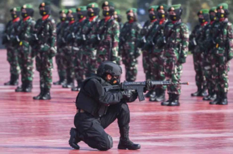Peringati Hari Kartini, Korps Prajurit Wanita TNI Gelar Apel Bersama-2