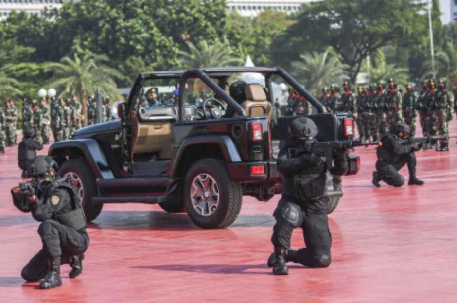 Peringati Hari Kartini, Korps Prajurit Wanita TNI Gelar Apel Bersama-1