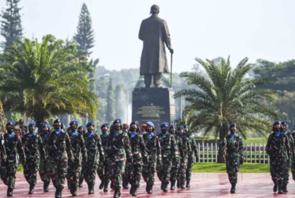 Peringati Hari Kartini, Korps Prajurit Wanita TNI Gelar Apel Bersama-4