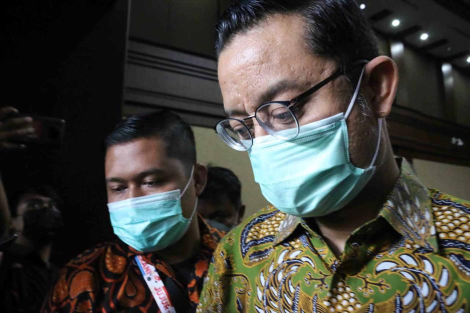 Eks Mensos Juliari Peter Batubara Jalani Sidang Perdana Kasus Korupsi Bansos Covid-19-1